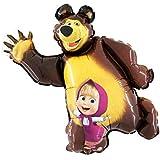 Masha And The Bear Shape Foil Balloon