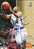 Antoine Walker autographed Basketball Card (Kentucky) 1996 Score Board Rookie