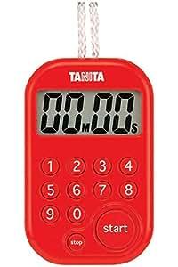 タニタ タイマー テンキー 100分 レッド TD-379 RD