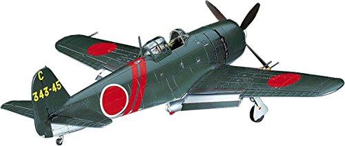 ハセガワ 1/48 日本海軍 川西 N1K2-J 局地戦闘機 紫電改 後期型 プラモデル JT74