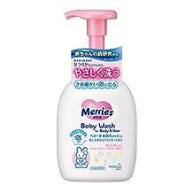 Merries Baby Wash, Body and Hair, 400ml
