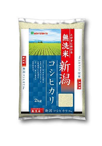 新潟県産コシヒカリ 無洗米 2Kg