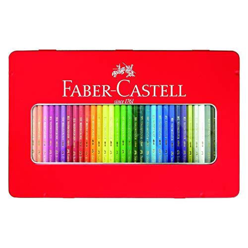 シヤチハタ ファーバーカステル 水彩色鉛筆 36色セット TFC-WCP/36C 1セット(36色)