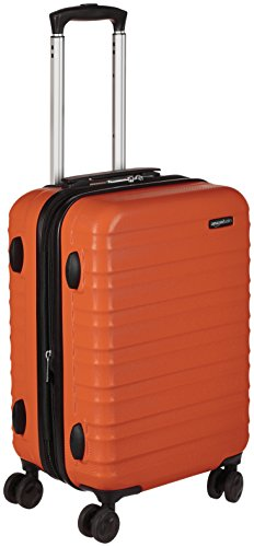 Amazonベーシック スーツケース ハードタイプ ダブルキャスター付き 51cm オレンジ