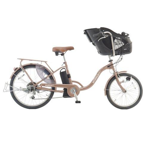 20/24インチ 電動アシスト自転車 チャイルドシートモデル SUISUI グリップ式外装6段変速ギア ワンタッチコントローラー KH-DCY07