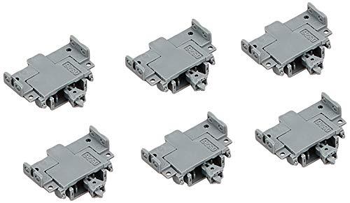 TOMIX Nゲージ 密連形 TNカプラー 6個 SP グレー 0337 鉄道模型用品