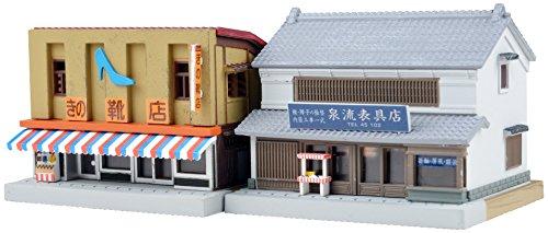 トミーテック ジオコレ 建物コレクション 097-2 靴屋・表具店2 ジオラマ用品