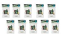 Arcane Tinmen ボードゲームスリーブ 100枚入り カードスリーブ ディスプレイケース 10パック SUPATBGSTRT10