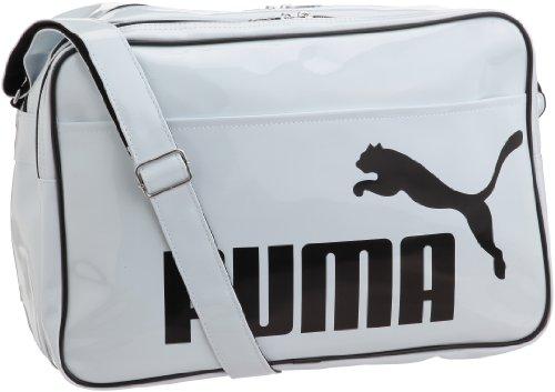 [プーマ] PUMA TS シャイニー タイプ A ショルダー L 069634  02 (ホワイト/ブラック)