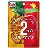 不二家 ドール2つのフルーツグミ(パイナップル&アップル) 45g×10袋