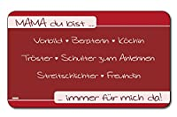 Kesper 32318朝食のボード「MAMA」メラミン、マルチカラー