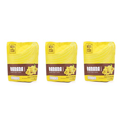 FRUITIVAL バナナ チップス 3袋 グルテンフリー タイ産
