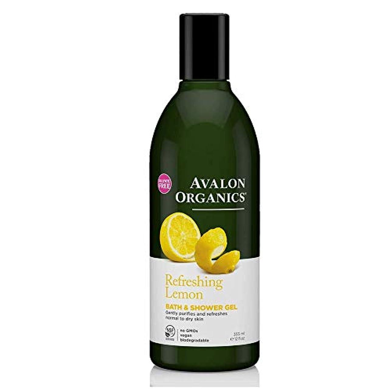 男性取り付け非武装化アバロン NSF ボディウォッシュ レモン 355ML