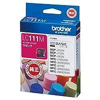 == まとめ == / ブラザー/BROTHER/インクカートリッジ/マゼンタ / LC111M / 1個 / - ×4セット -