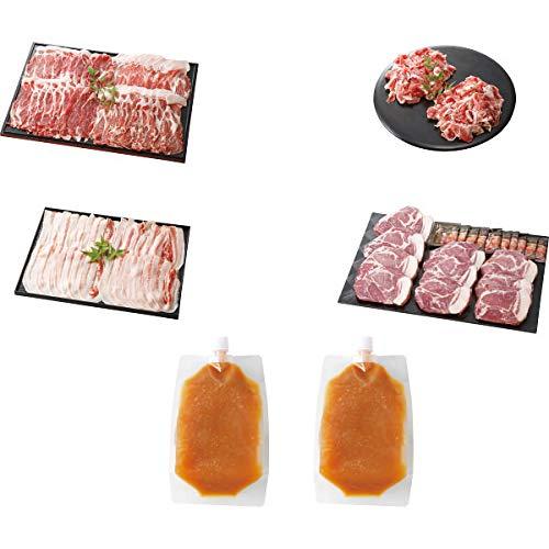 「イブ美豚」(猪豚肉) しゃぶしゃぶ&ステーキ用セット お中元お歳暮ギフト贈答品プレゼントにも人気