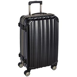 (ビータス) スーツケース BH-F2000 中型 Mサイズ エンボスブラック【2000 M/E-BK】