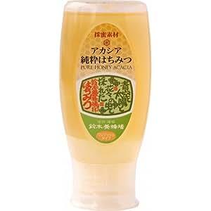 鈴木養蜂場 アカシア蜂蜜プッシュボトル 500g