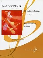 デクーエ: サクソフォンのための35の練習曲/ビヨドウ社