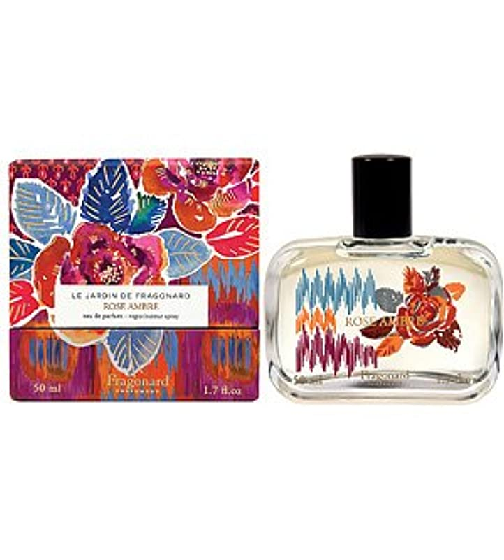 文法増加する経済的Fragonard Rose Ambre (フラゴナール ローズ アンバー) 1.7 oz (50ml) EDP Spray for Women