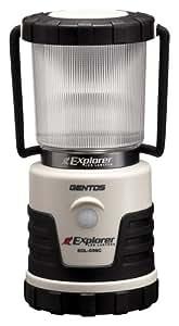 GENTOS(ジェントス) LED ランタン 【3色切替/明るさ380ルーメン/連続点灯14時間/防滴】 エクスプローラー SOL-036C