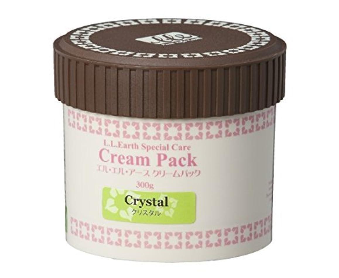 専門用語有効なリテラシーLLE 業務用 クリームパック 300g W (透明肌) [2種類から選べる] (フェイスパック) クリスタル