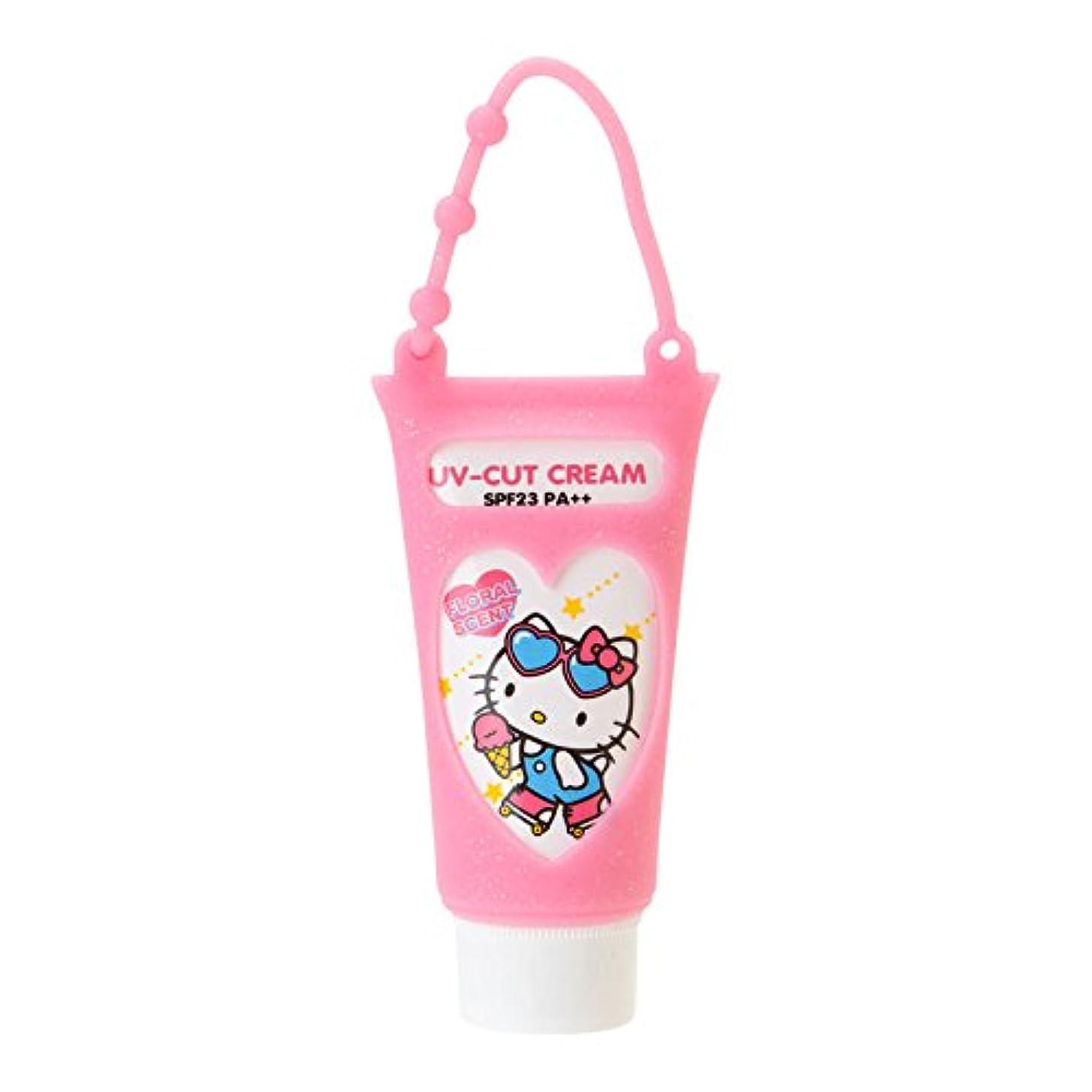 サポートカポック徹底ハローキティ 携帯UVクリーム(フローラルの香り)