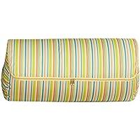 ColorJoy ふとん収納ケース 円筒型 持ち手付き 押入れ収納 敷き布団 毛布収納ケース 布団の大敵 湿気やホコリからガード 収納ボックス クローゼット(オックスフォードの布) (XL, グリーン)