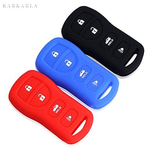 [해외]실리콘 키 커버 용 인피니티 g25 fx35 ex25 qx56 fx37 4 bottons 원격 키/Silicone key case cover infinity g25 fx35 ex25 qx56 fx37 4 bottons remote key