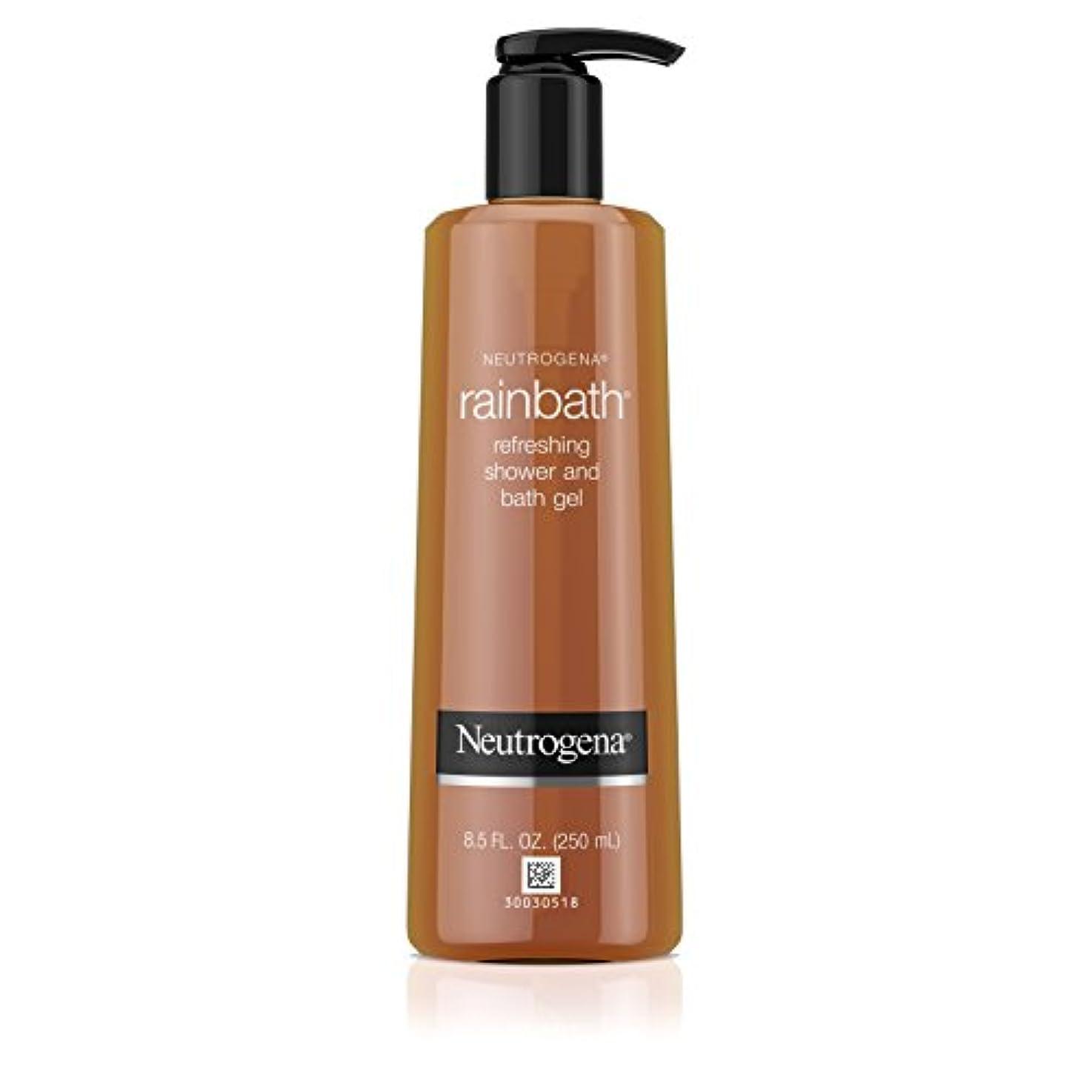 検閲窒素哺乳類Neutrogena Rainbath Refreshing Shower And Bath Gel (Body Wash), 250ml
