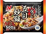 ニチレイ レンジでふっくらパラッと五目チャーハン500gX12袋 冷凍食品