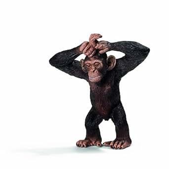 Schleich シュライヒ ワイルドライフ チンパンジー(仔) 14680