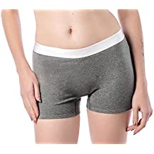 Dolcevida Women's Cotton Boyshorts Panties Soft Boxer Briefs Underwear