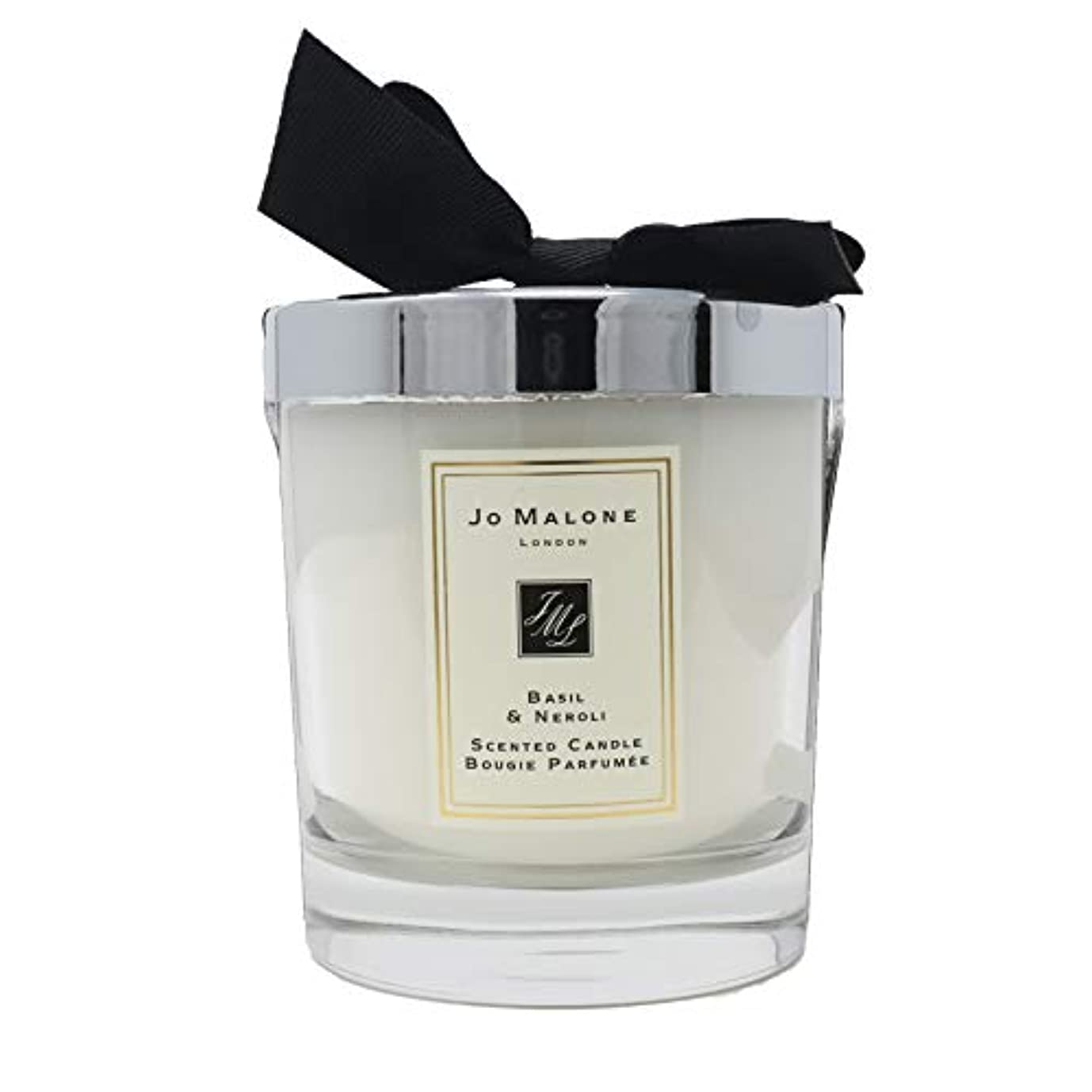 メタリック本会議ラリーベルモントJo Malone Basil &ネロリScented Candle 200 g ( 2.5インチ)
