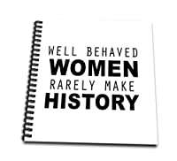 Tory Anneコレクション引用 – Well BehavedレディースRarely Make History – Drawing Book 12x12 memory book db_223107_2
