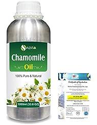 Chamomile (Matricaria chamomile) 100% Natural Pure Essential Oil 1000ml/33.8fl.oz.