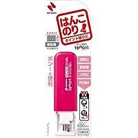 ニチバン テープのりtenoriはんこのり ピンク×5