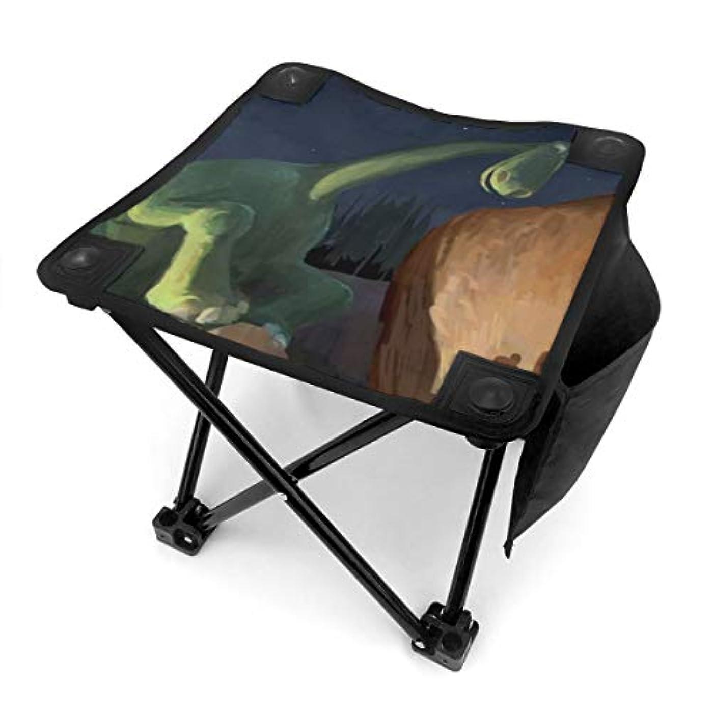セイはさておきラフトファッションキャンプ用折りたたみスツール 折りたたみ椅子 キャンプチェア アウトドアチェア スツール レジャーチェア 折りたたみ椅子 恐竜 子供 ポータブル 便利で軽い コンパクト 収納袋 キャンプ 釣り 安定した
