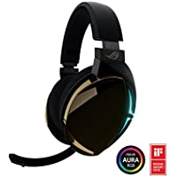 ROG Strix Fusion 500 Virtual 7.1 LED Gaming Headset with Hi-Fi Grade ESS DAC ESS Amplifier Digital Microphone and Aura Sync RGB Lighting [並行輸入品]