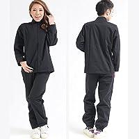 男女兼用サウナスーツ/ブラック/3サイズ