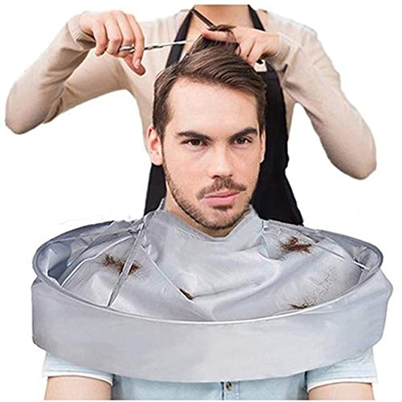 軽く大胆不敵出費DIY ヘアカットクローク傘カッティングスタイリングクロークラップサロンバーバーガウンケープ理髪美容師