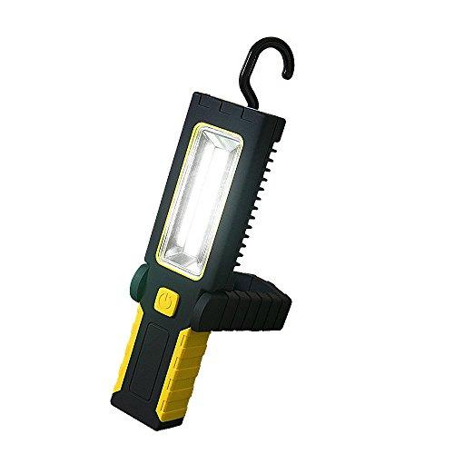 LED ワークライト 作業灯 懐中電灯 (GT-SD-2BD)ハンディライト スティックライト スタンドライト ランタン 防災 COB LEDライト フック付 マグネット固定 夜間作業用ライト 面発光 広範囲