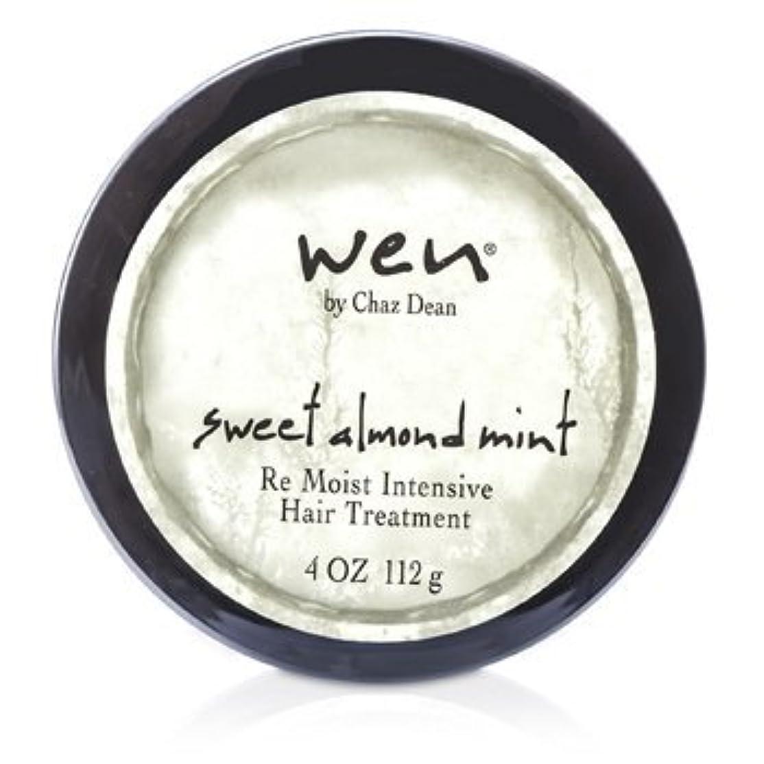 時代遅れ自慢ネズミWEN Re Moist Intensive Hair Treatment 112g sweet almond mint [並行輸入品]
