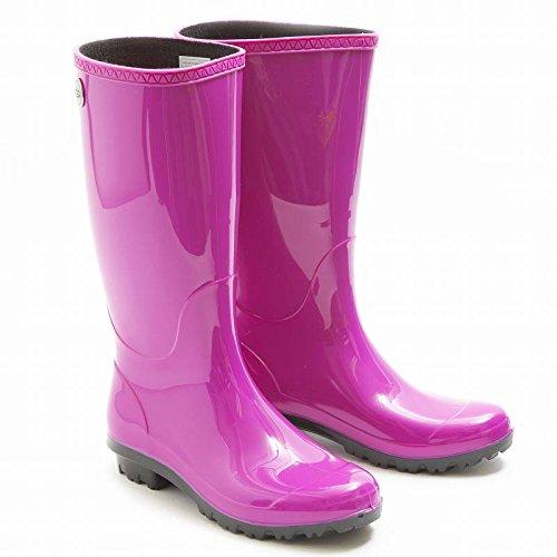 (アグ)UGG SHAYE シェイ レディース長靴 レインブーツ ピンク 1012350 US6/23cm [並行輸入品]