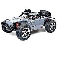 Pinjeer 1:12大型55キロメートル/ hリモコン車オフロード車高速ドリフト四輪駆動rcレーシング充電おもちゃの車誕生日プレゼント用キッズ8+ (Color : Gray, サイズ : 1-Battery)