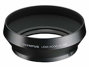 OLYMPUS 金属レンズフード マイクロフォーサーズ用 ブラック LH-48B BLK