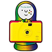 YELLOW PEACE vivitar ultra wide and slim 35mm フィルム トイカメラ-superheadz