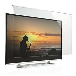 サンワダイレクト 液晶テレビ保護パネル 42インチ 43インチ 対応 アクリル製 テレビガード クリア 200-CRT014