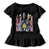 非常に良質の子供の半袖 Fortnite 春夏低年齢の女の子のTシャツ
