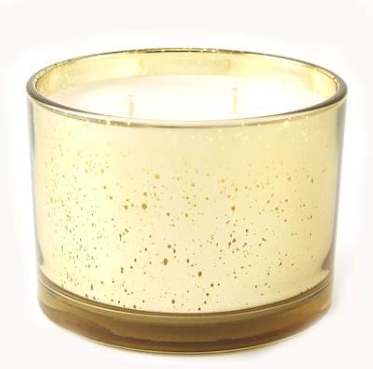無臭信者限られたアイコンTyler Statureゴールドonゴールド16oz香りつきJar Candle