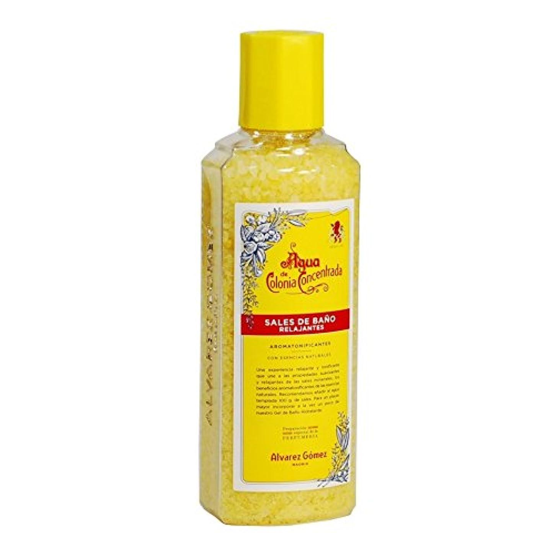 国旗保証衣類?lvarez G?mez Agua de Colonia Concentrada Bath Salts 300g (Pack of 6) - アルバレス?ゴメスアグア?デ?コロニア入浴剤300グラム x6 [並行輸入品]